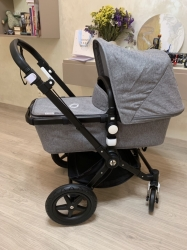 Bugaboo Cameleon 3 Plus, 2019 (Шасси Black/Grey Melange) Black/Grey melange/Black