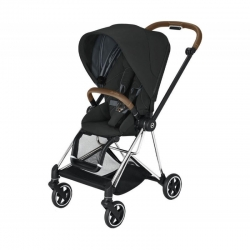 Cybex Mios 2020 на шасси Chrome Brown Deep Black