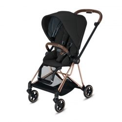 Cybex Mios 2020 на шасси Rose Gold Deep Black