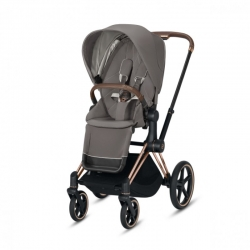 Cybex Priam 2020 на шасси Rose Gold Soho Grey