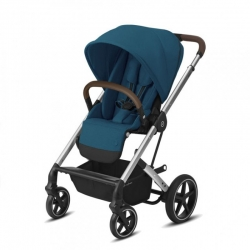 Cybex Balios S lux 2020 рама Silver River Blue