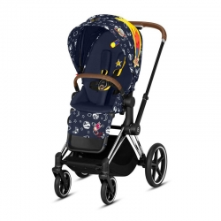 Cybex Priam Lux Space Rocket Space Rocket /Chrome Brown