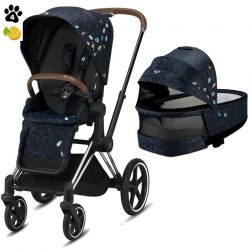 Cybex Priam 2 в 1 Jewels of Nature 2021 Chrome Brown