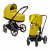 Cybex Priam 2020 Шасси Rose Gold Mustard Yellow