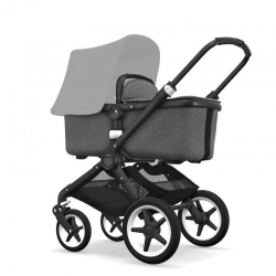 Bugaboo Fox 2019 (Шасси Black+/Grey Melange)