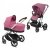 Cybex Balios S Lux 2020 шасси silver  Magnolia Pink