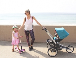 Bugaboo Runner BLACK/PETROL BLUE