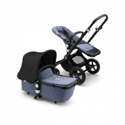 Bugaboo Cameleon 3 Plus, 2019 (Шасси Black/Blue Melange) Black/Blue melange/Black