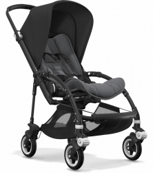 Bugaboo Bee 5 (Шасси Black+/Grey Melange) BLACK/GREY MELANGE/BLACK