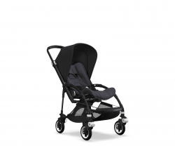 Bugaboo Bee 5 (Шасси Black+/Steel Blue) BLACK/STEEL BLUE/BLACK