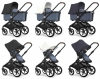 Bugaboo Fox 2019 (Шасси Black+/Blue Melange)